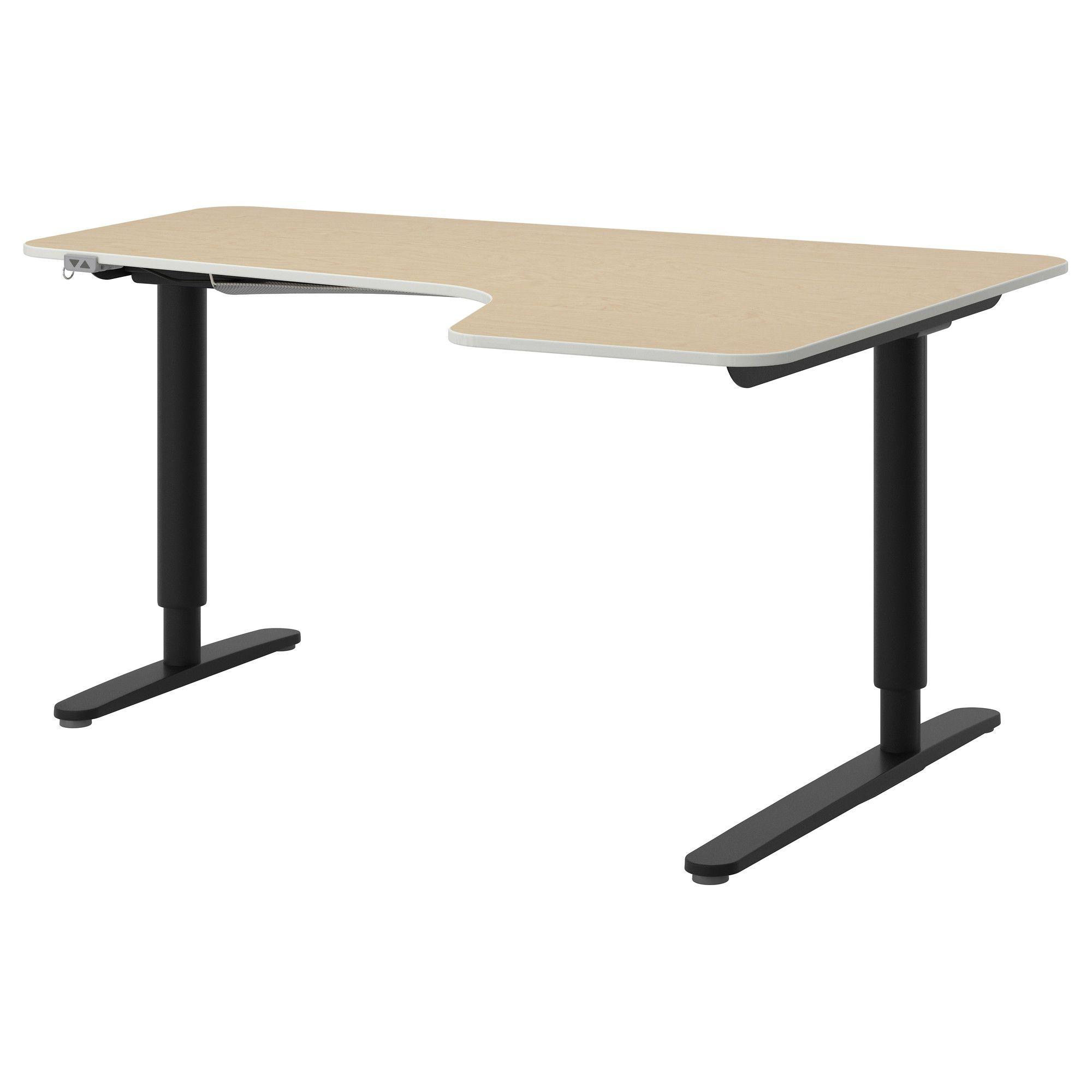 pin af ladendirekt p schreibtische ikea corner desk sit stand rh pinterest dk