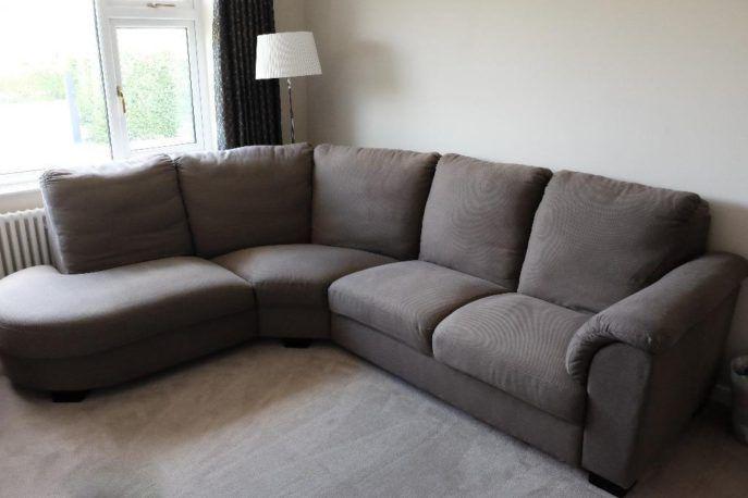 Sofa Gray Chair Ikea Tidafors 86