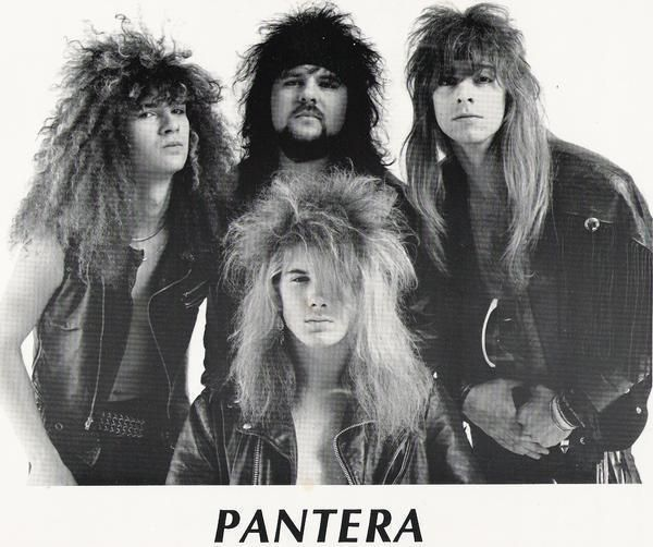 Pantera! Love how hardcore bands made fun of the guys they tried to look like