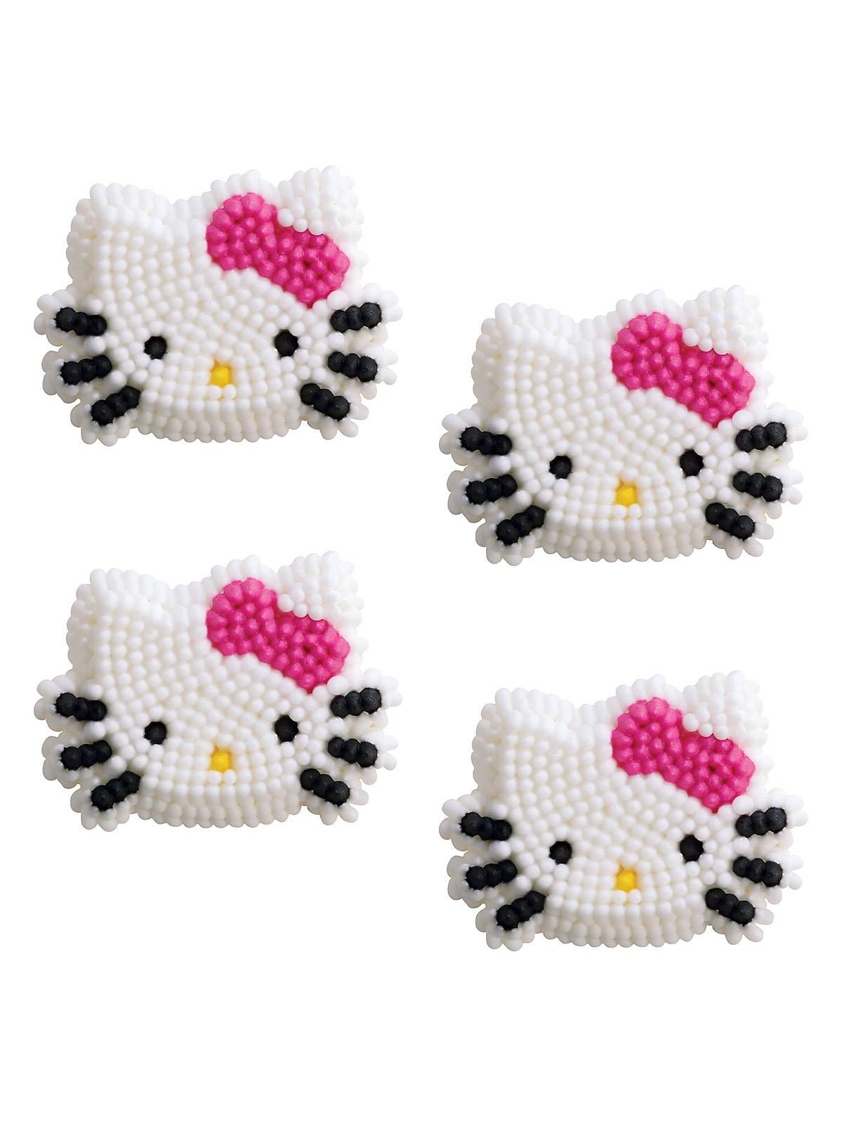 Bargain Party Decorations Hello Kitty Edible Icing Decorations 12 Pack Kid Hello Kitty