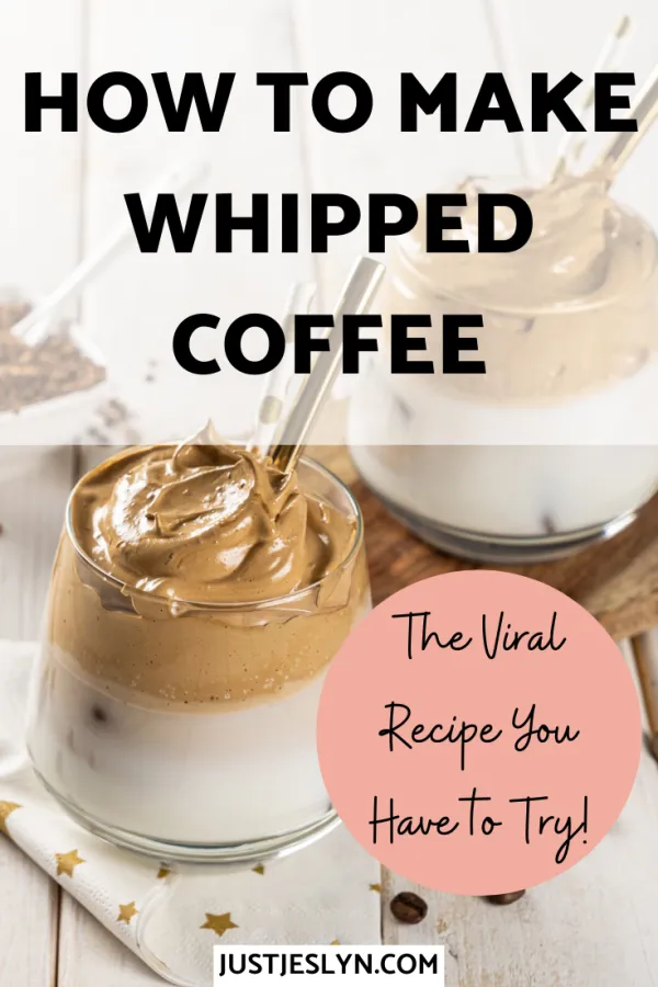 How to Make Whipped Coffee The Viral Recipe You Have to
