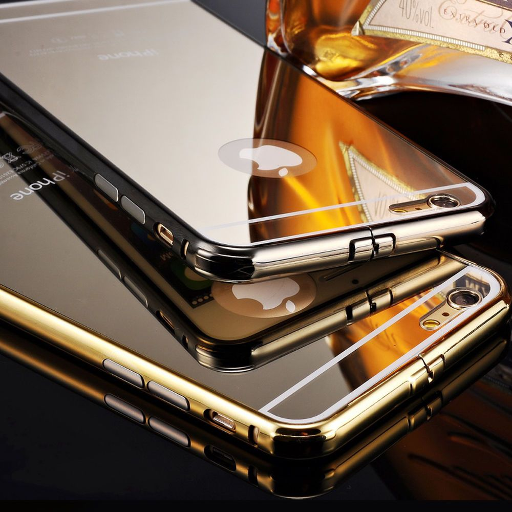 New Luxury Aluminum Ultra Thin Mirror Metal Case Cover For Iphone 6 Xr Spigen Clear Anti Shock Hybrid Original Casing Matte Black Us 719 Other See Details In Cell Phones Accessories Phone Cases Covers Skins