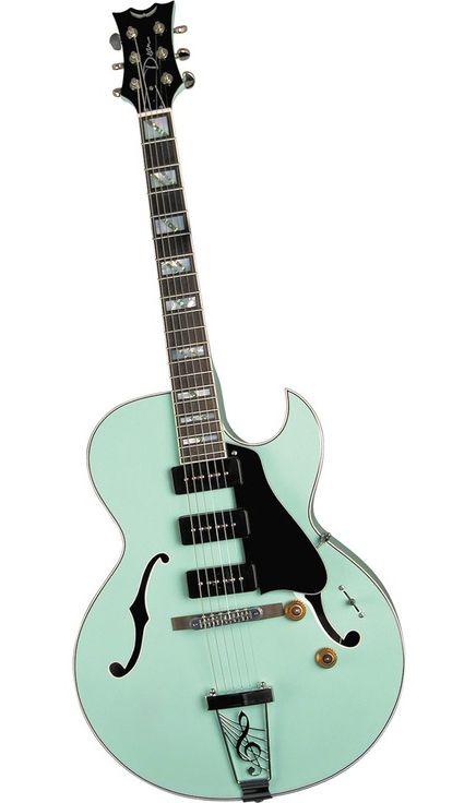 Dean Palomino Sea Green Guitar Electric Guitar Archtop Guitar