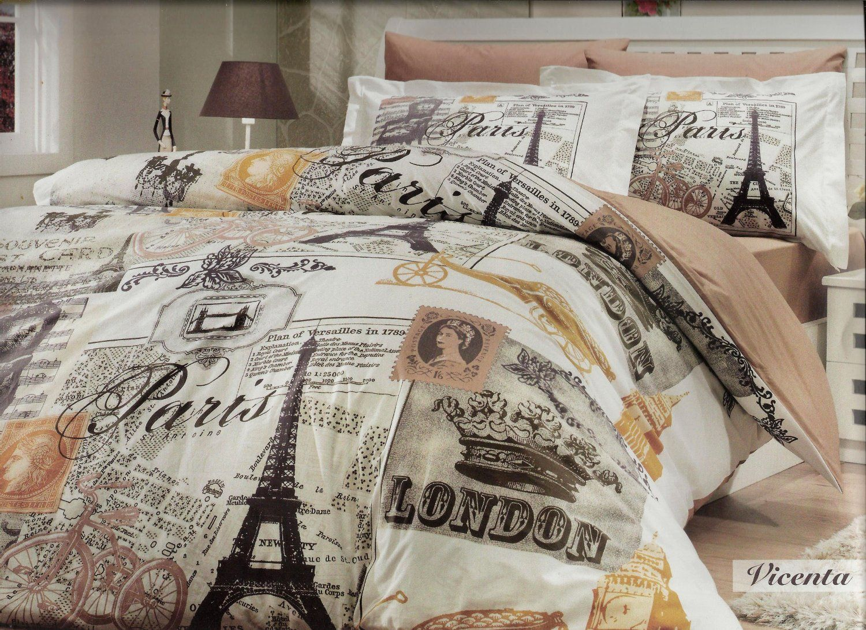 Amazon Com Deconation 100 Cotton Comforter Set Single Twin Full