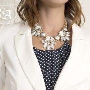 Crystal Dew Drop Necklace