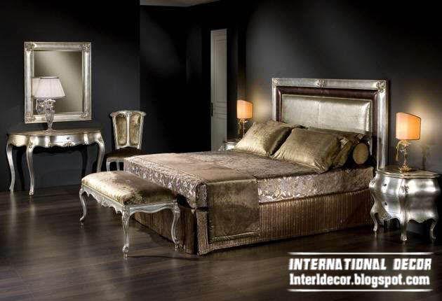 luxury classic bedroom furniture design italian antique bed rh pinterest com