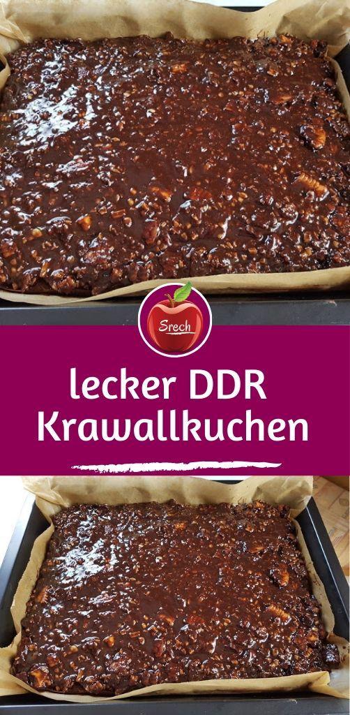 lecker DDR Krawallkuchen #grilleddesserts