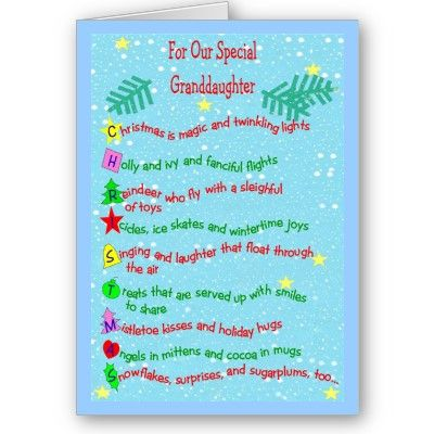 Christmas Greeting Card Verses And Sentiments Christmas Card