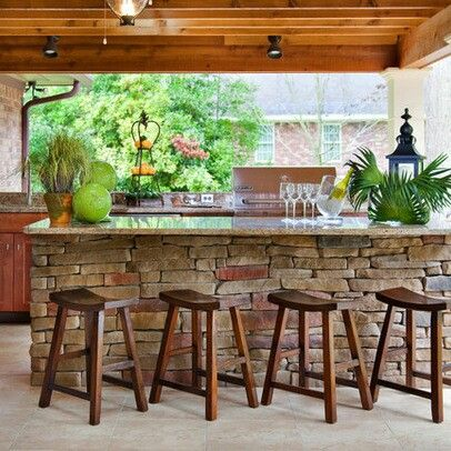 70 awesomely clever ideas for outdoor kitchen designs outdoor rh pinterest es