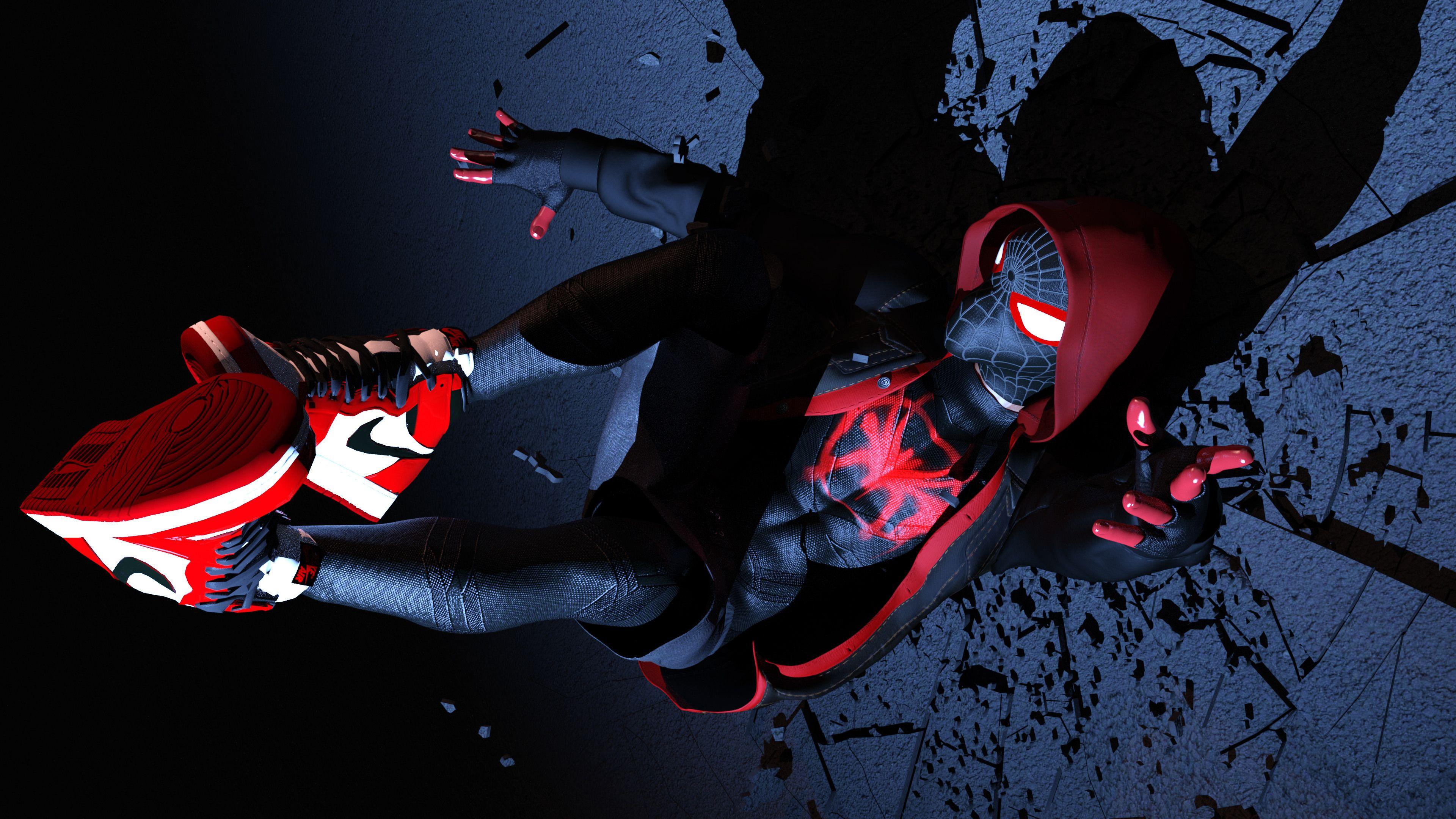 Spiderman Miles Morales 4k superheroes ...