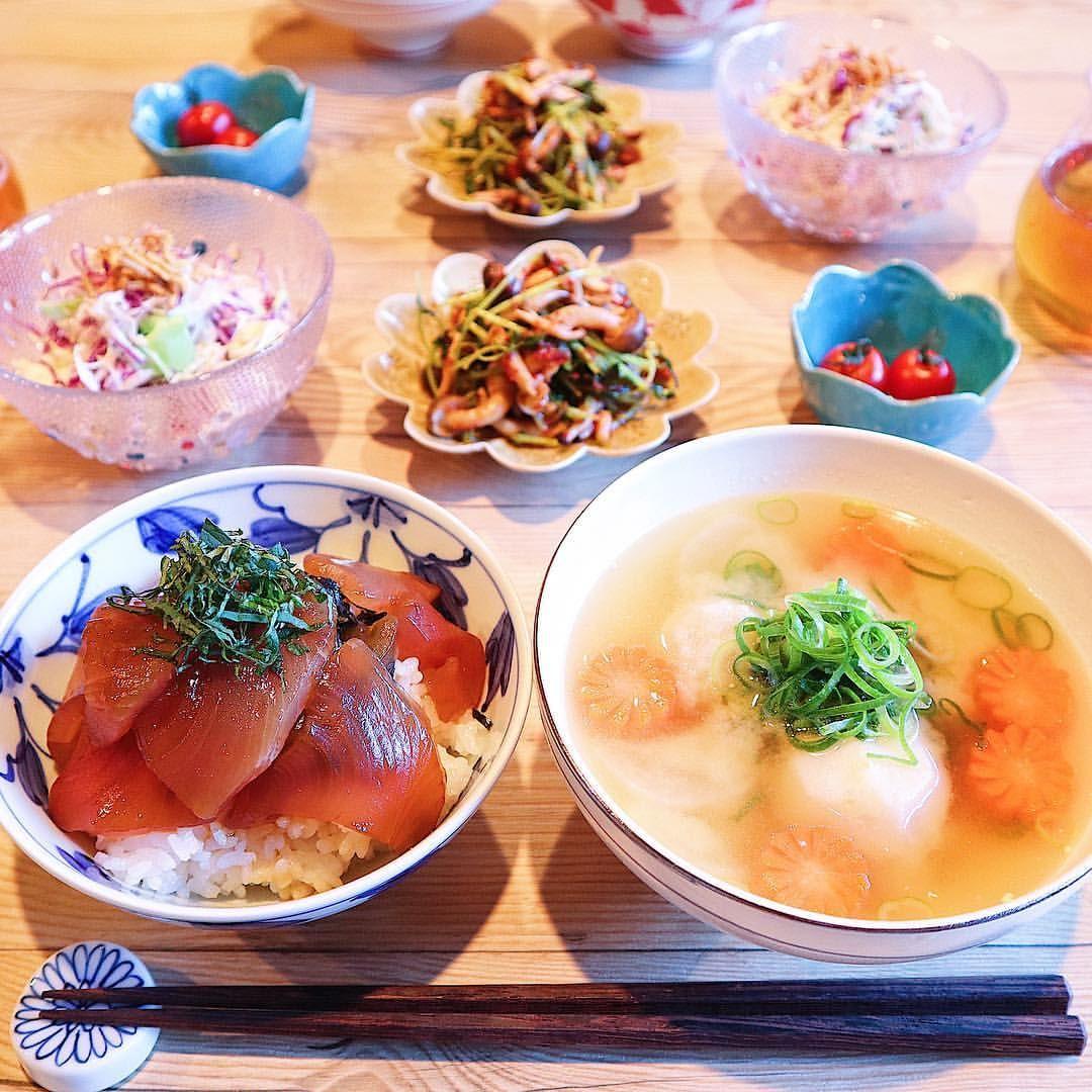 丼 マグロ 献立 漬け マグロ丼に合うおかず7選と副菜やスープ、おすすめ献立メニュー! 献立寺