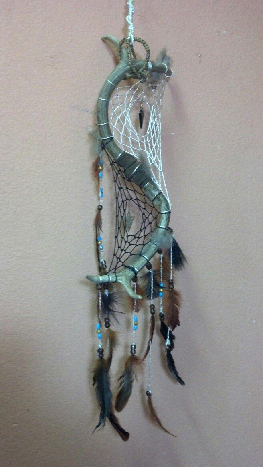 Dream Catcher Maker Double Deer Antler Dream Catcher Widow Maker Designs 25