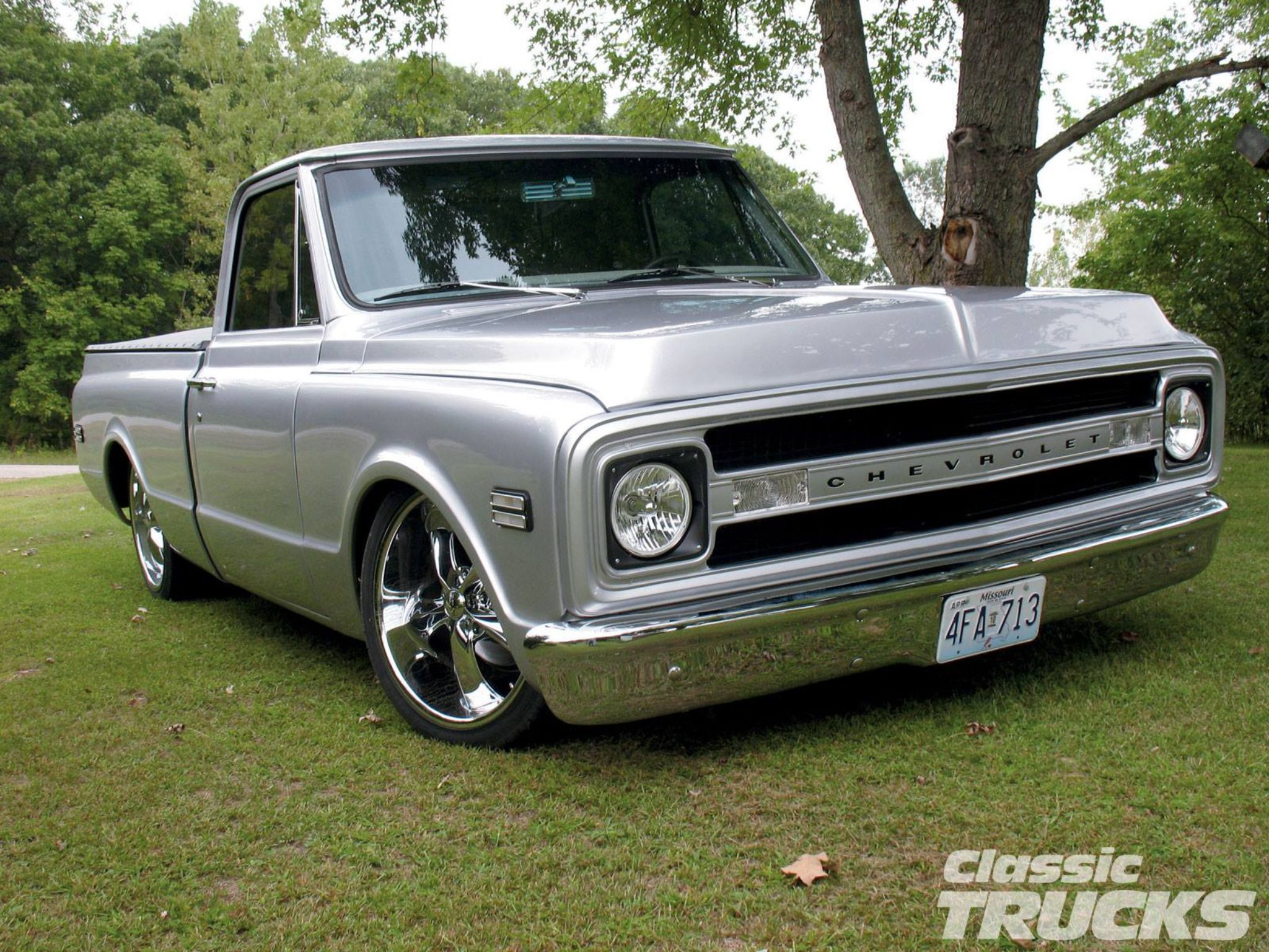 1969 chevy pickup truck classic head lights photo again change the tires wheels and lift it