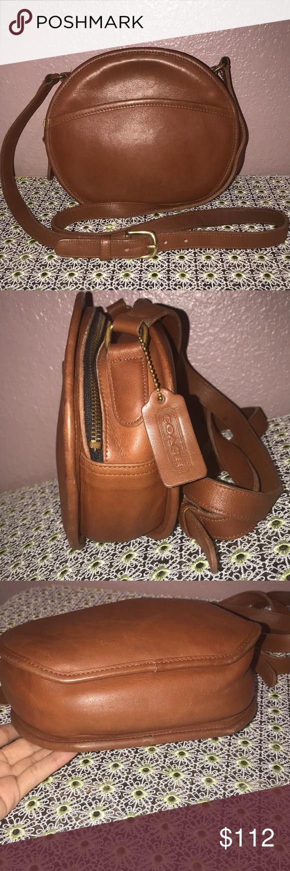 Spotted while shopping on Poshmark  Vintage Coach Brown Crossbody Bag   9901!  poshmark  fashion  shopping  style  Coach  Handbags c381976366