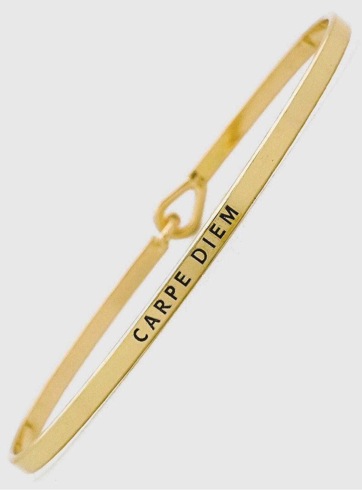 Carpe Diem Bracelet (Avaliable in 3 colors)