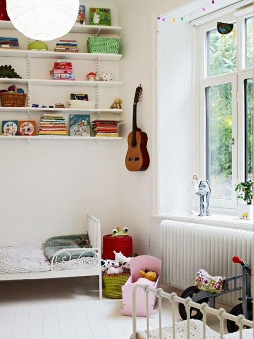 zimmer ideen mädchen schlafzimmer regalsystem   For the Home ...