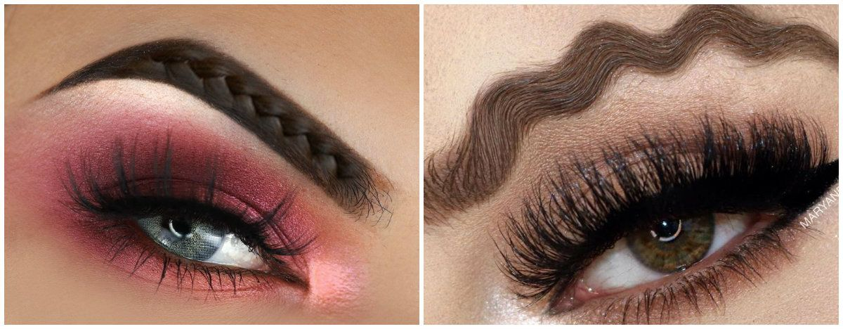 7fa28d3d5d3 Eyebrow shapes 2018: Various types of eyebrow trends that gratify everyone  #make #makeup #Eyebrow #women #Glamour #fashion #style #stylish #modern  #nice ...