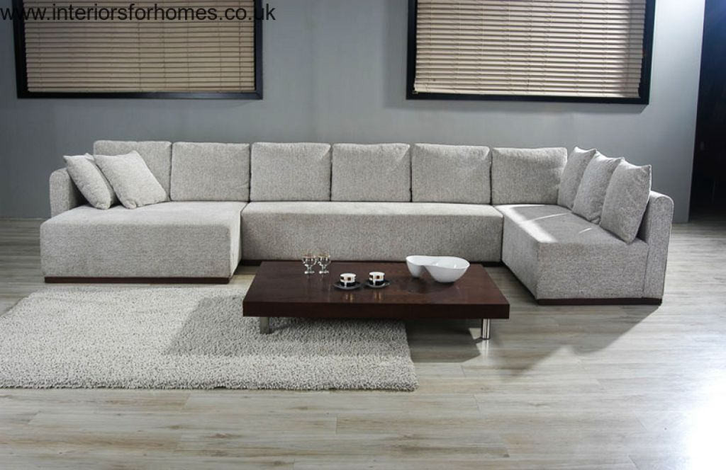 large u shaped sofa