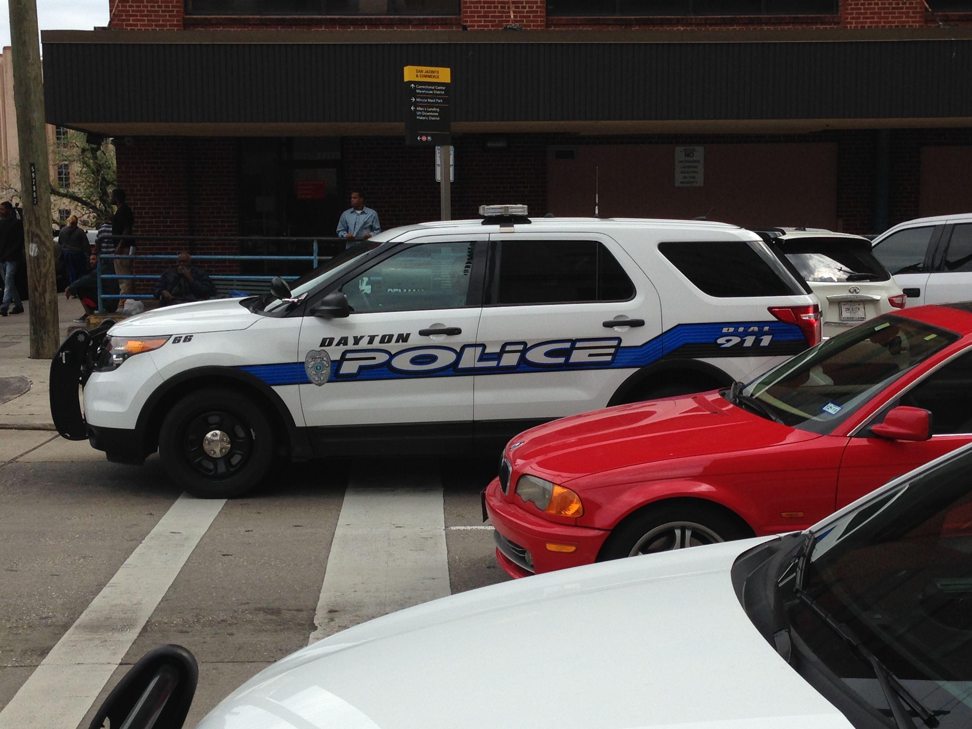 Dayton Police Dept Ford Pi Suv Texas Police Cars Emergency Vehicles Police Dept
