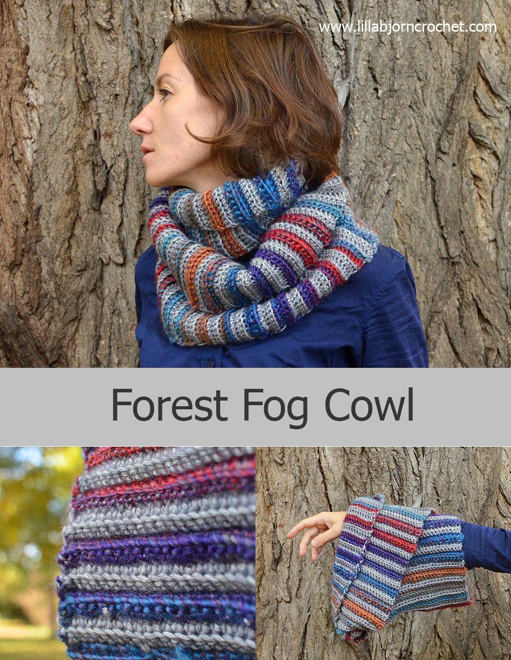 Forest Fog Cowl – Free Pattern   Tücher, Häkeln und Stricken