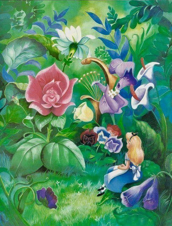 Картинки сказки цветы