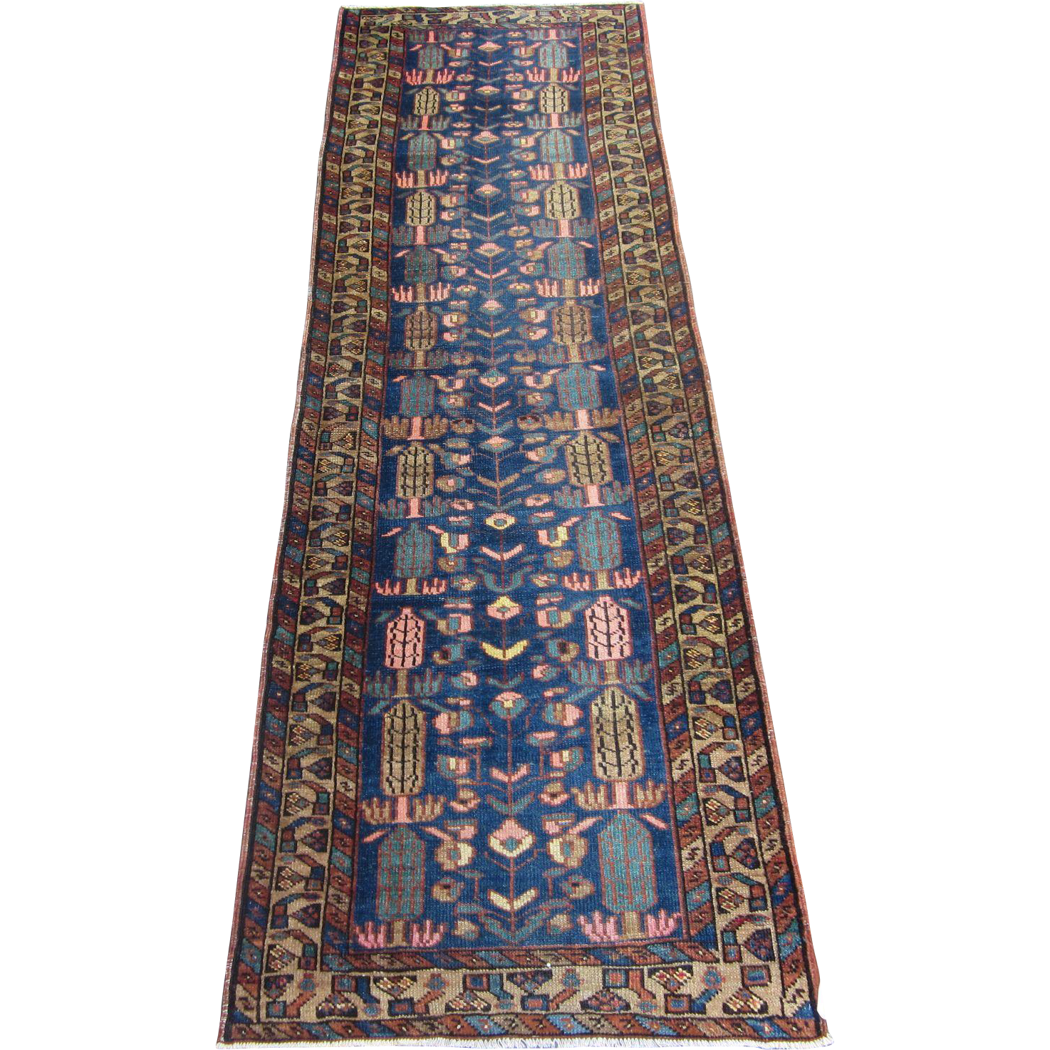 Heriz Runner , NW Persia , Early 20th Century , 9.3 x 2.10