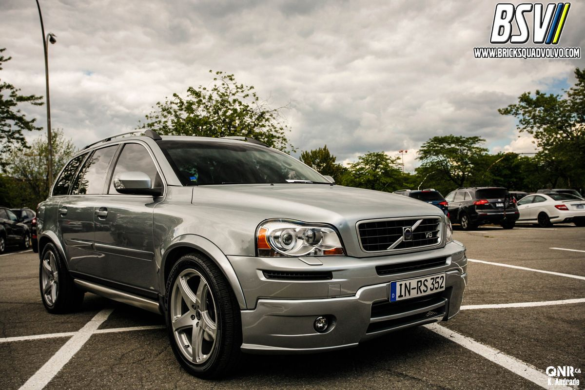 medium resolution of tony from euro volvo came to show of his 2009 xc90 v8 with a full heico sportiv body kit sport suspension sport cat back exhaust and o z racing wheels