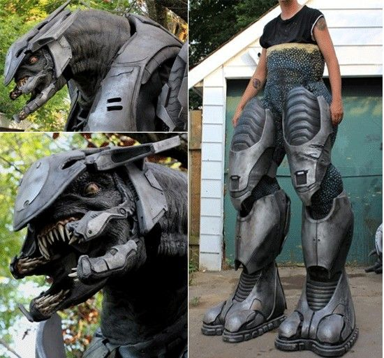 Halo alien character cosplay - wow | Wicked Costumes | Pinterest ...