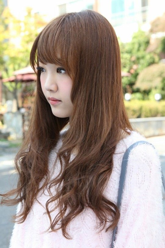 Side View Of Korean Hairstyles 2013 Hairstyles Weekly Hairstyle Hair Styles Asian Hair