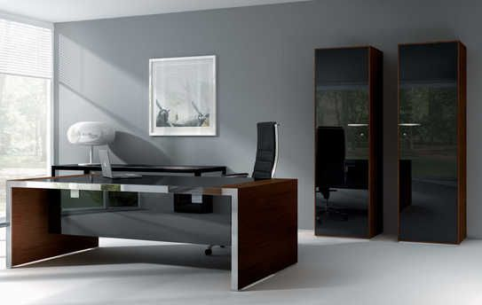 Iponti Italian executive desk by Abbondi Office Furniture Italy