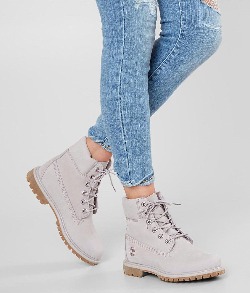 Timberland Icon Boot Women's Shoes in Light Lilac Nubuck