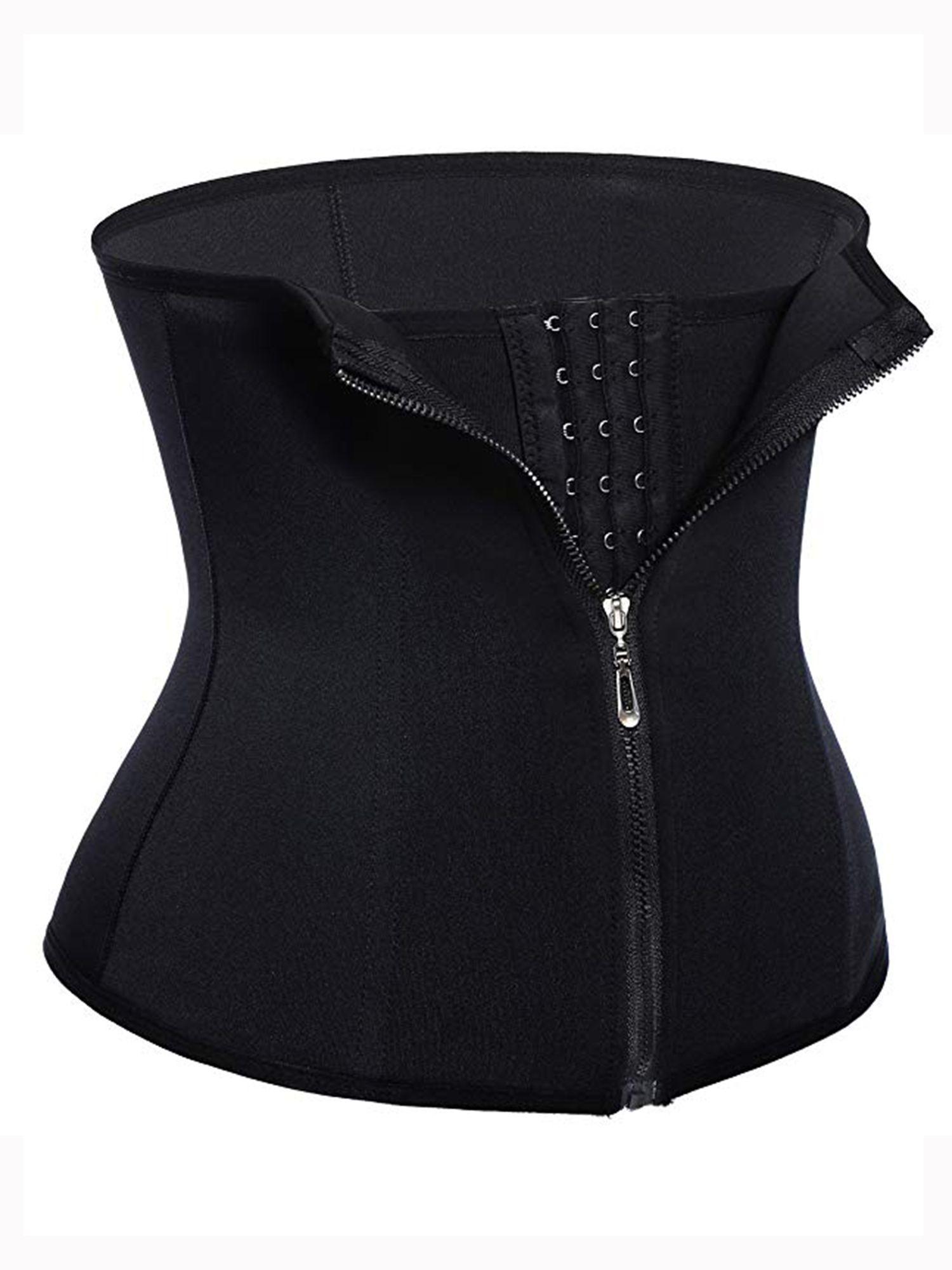 41aa28c1f9 LELINTA Women Waist Trainer Corset Cincher Zipper Body Shaper for Weight  Loss Girdle Top Tummy Underwear
