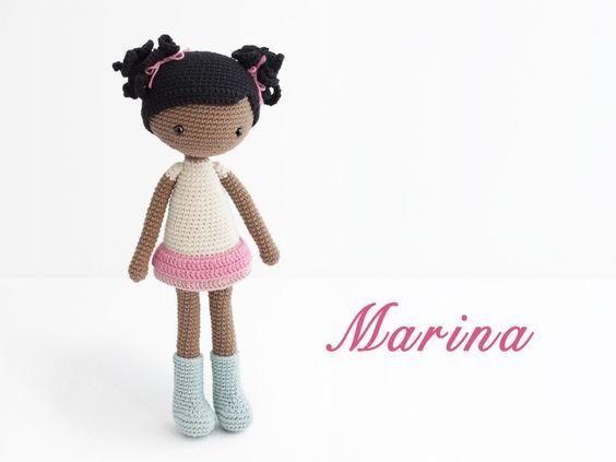 Amigurumi Marina doll | Ganchillo | Pinterest | Marina, Muñeca ...