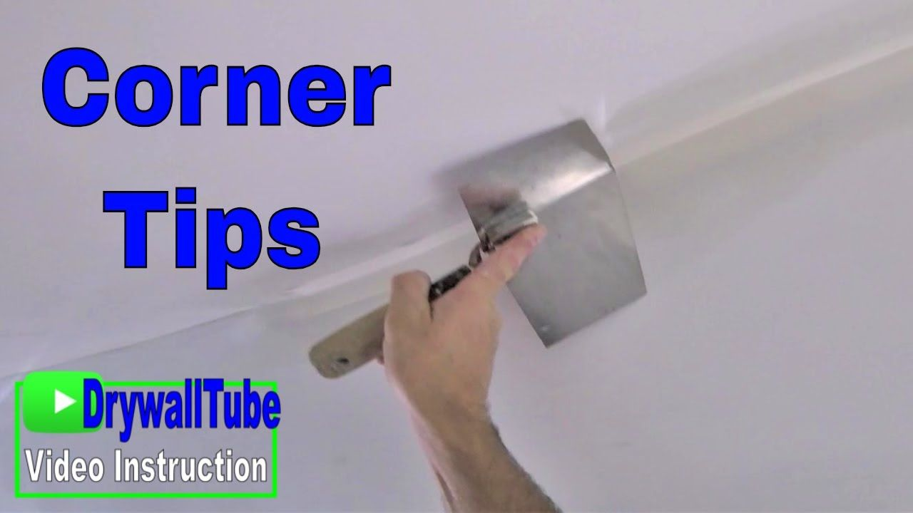 Do Inside Drywall Corners Like A Pro With The Drywall Corner Tool Drywall Corners Drywall Tools