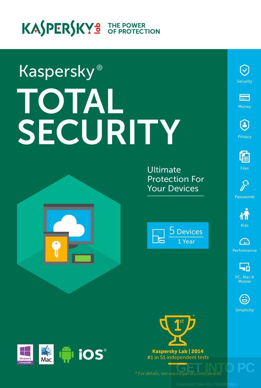 kaspersky total security free trial download