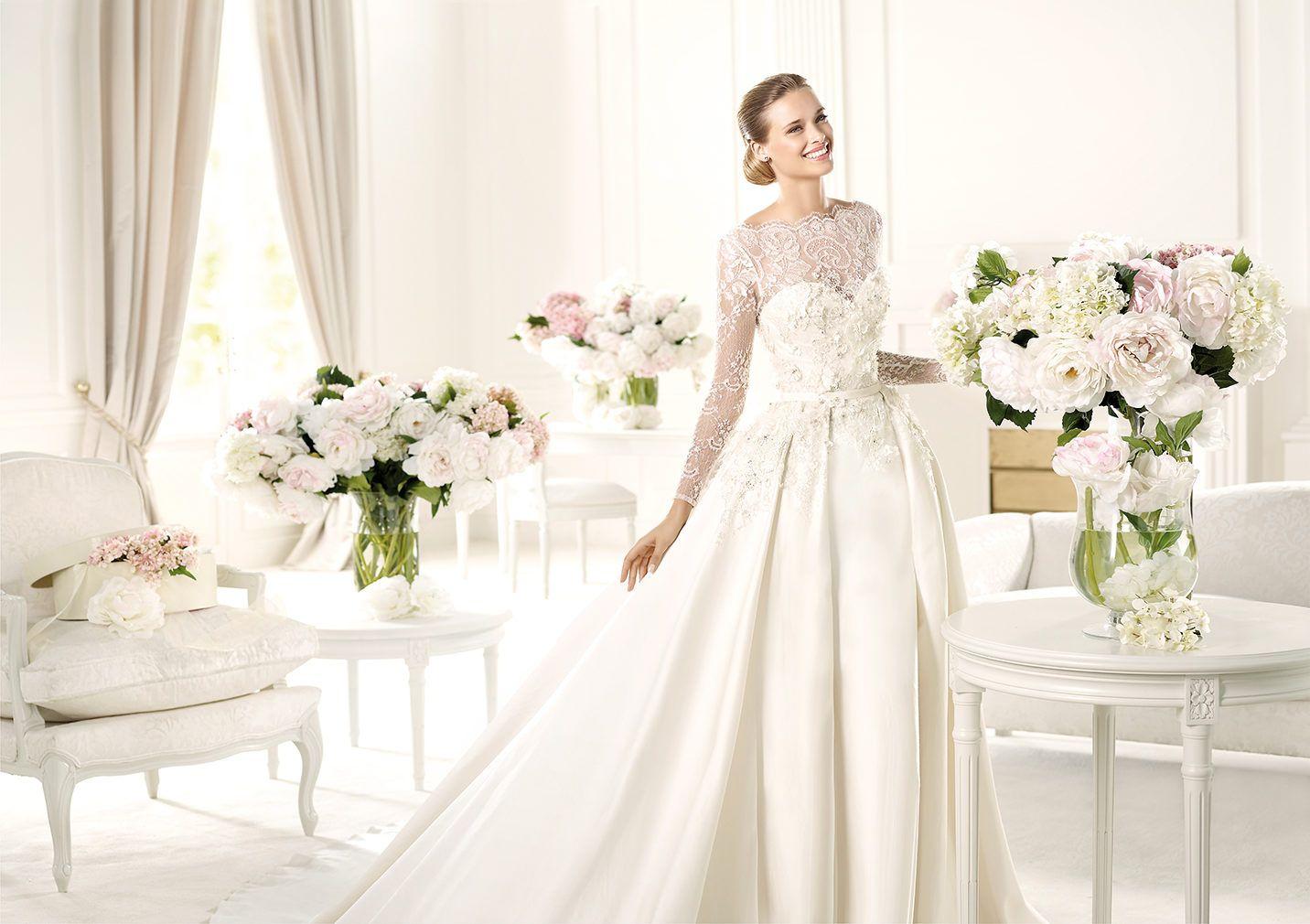 Pronovias presents the Monet bridal dress. Elie by Elie Saab 2013 ...