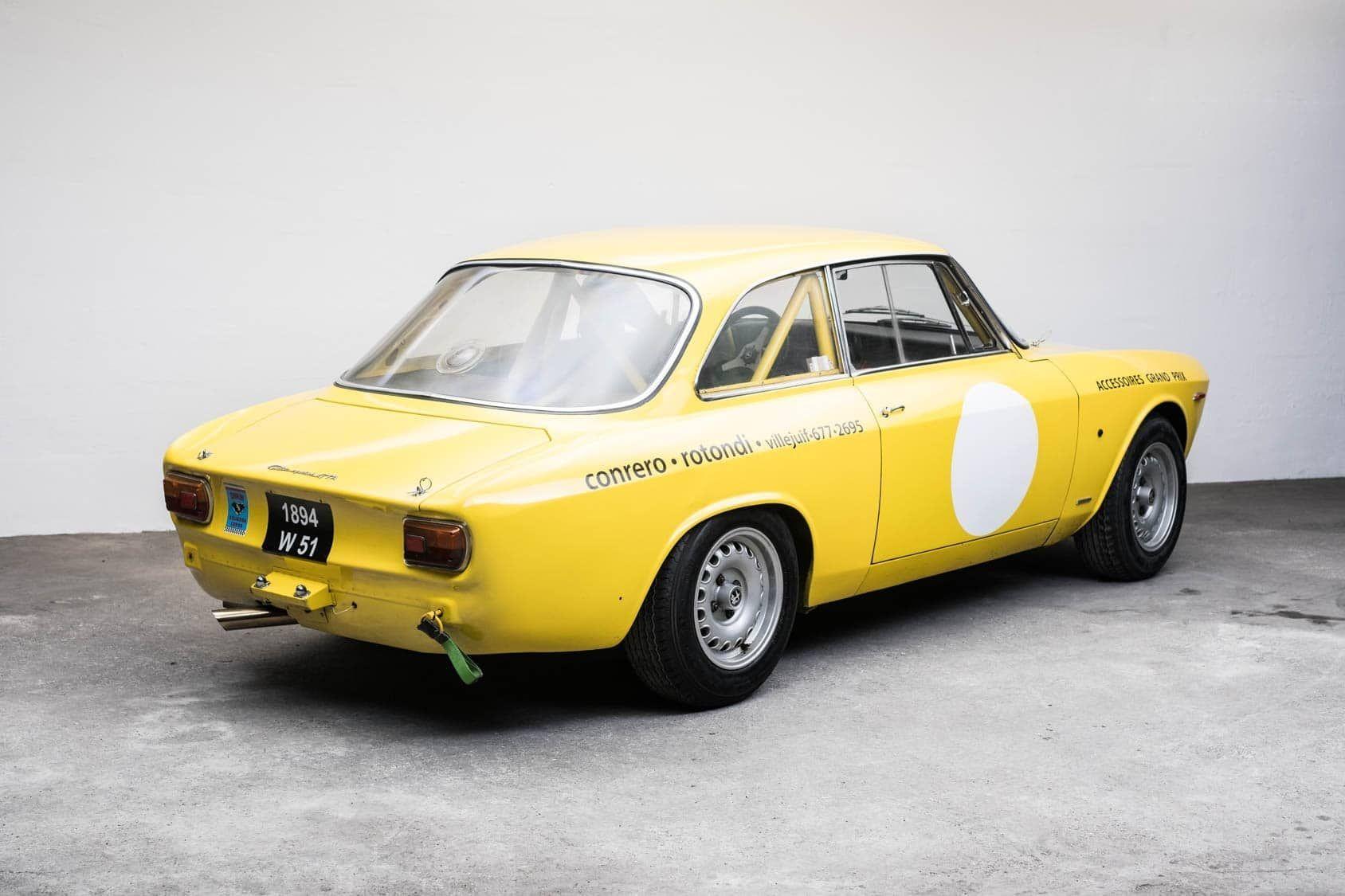 Deze Originele Alfa Romeo Giulia Gta 1600 Uit 1965 Wordt In