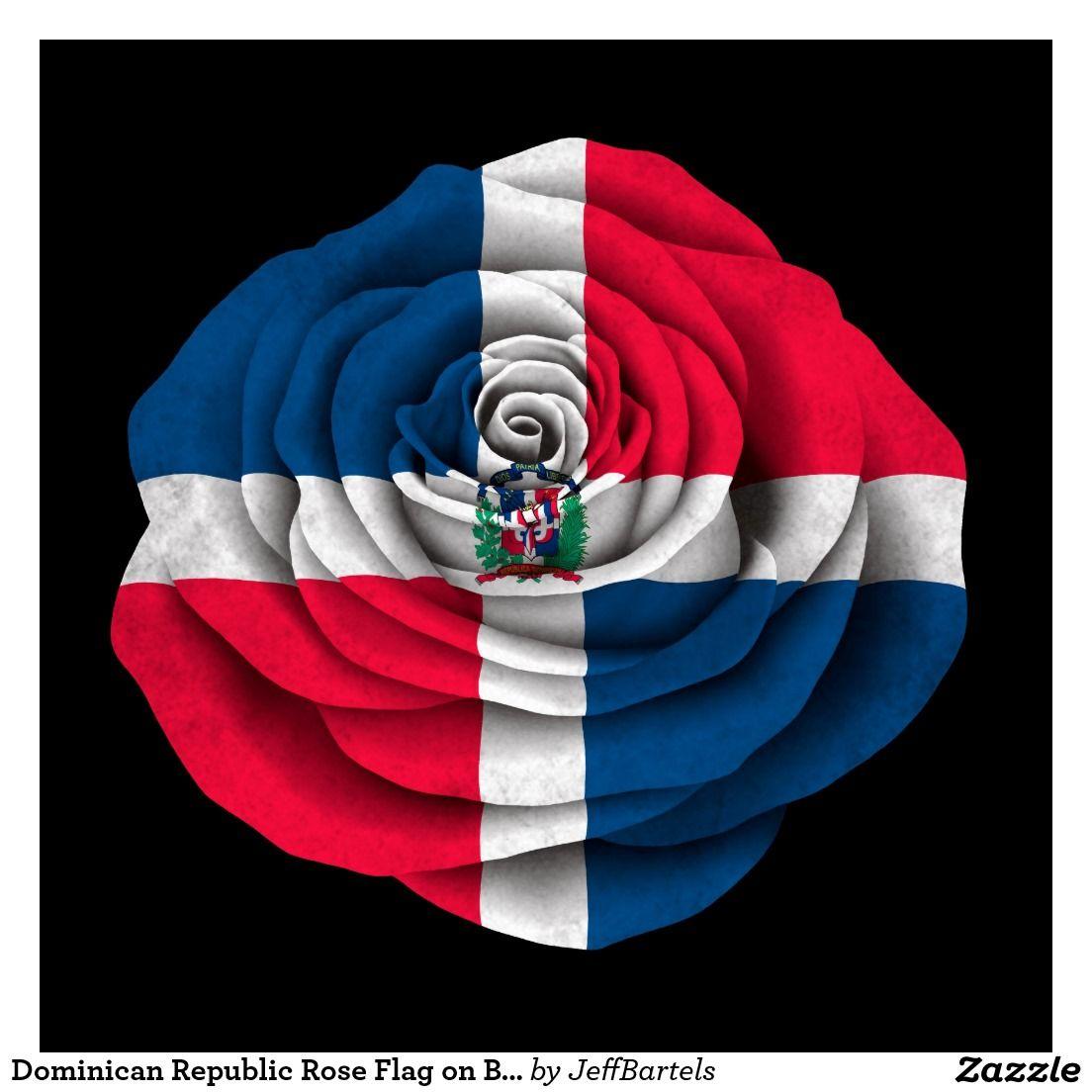 Dominican Republic Flag Posters  Zazzle  Dominican World