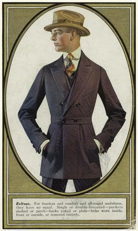 Mens Fashion, J.C Leyendecker.