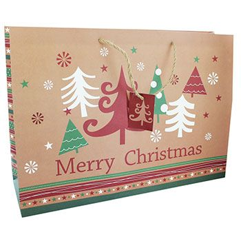 Adult Christmas Gift Bag - Assorted Christmas gifts, Bag and Gift
