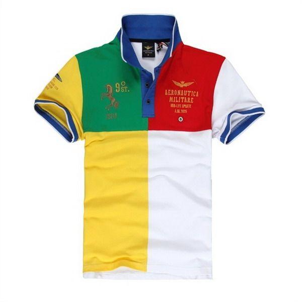 polo ralph lauren cheap Aeronautica Militare Quad Short Sleeve Men's Polo  Shirt White Grey http:
