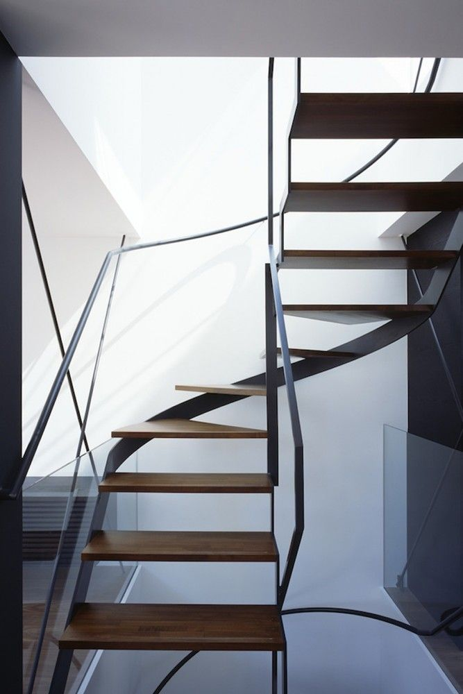 gallery of cave residence apollo architects associates 4 treppe schmale treppe und schmal. Black Bedroom Furniture Sets. Home Design Ideas