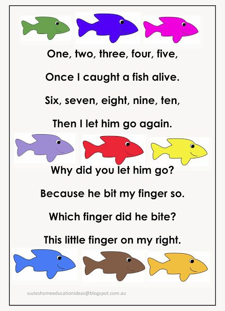 Fishing for numbers early number learning fish number for Funny fishing songs