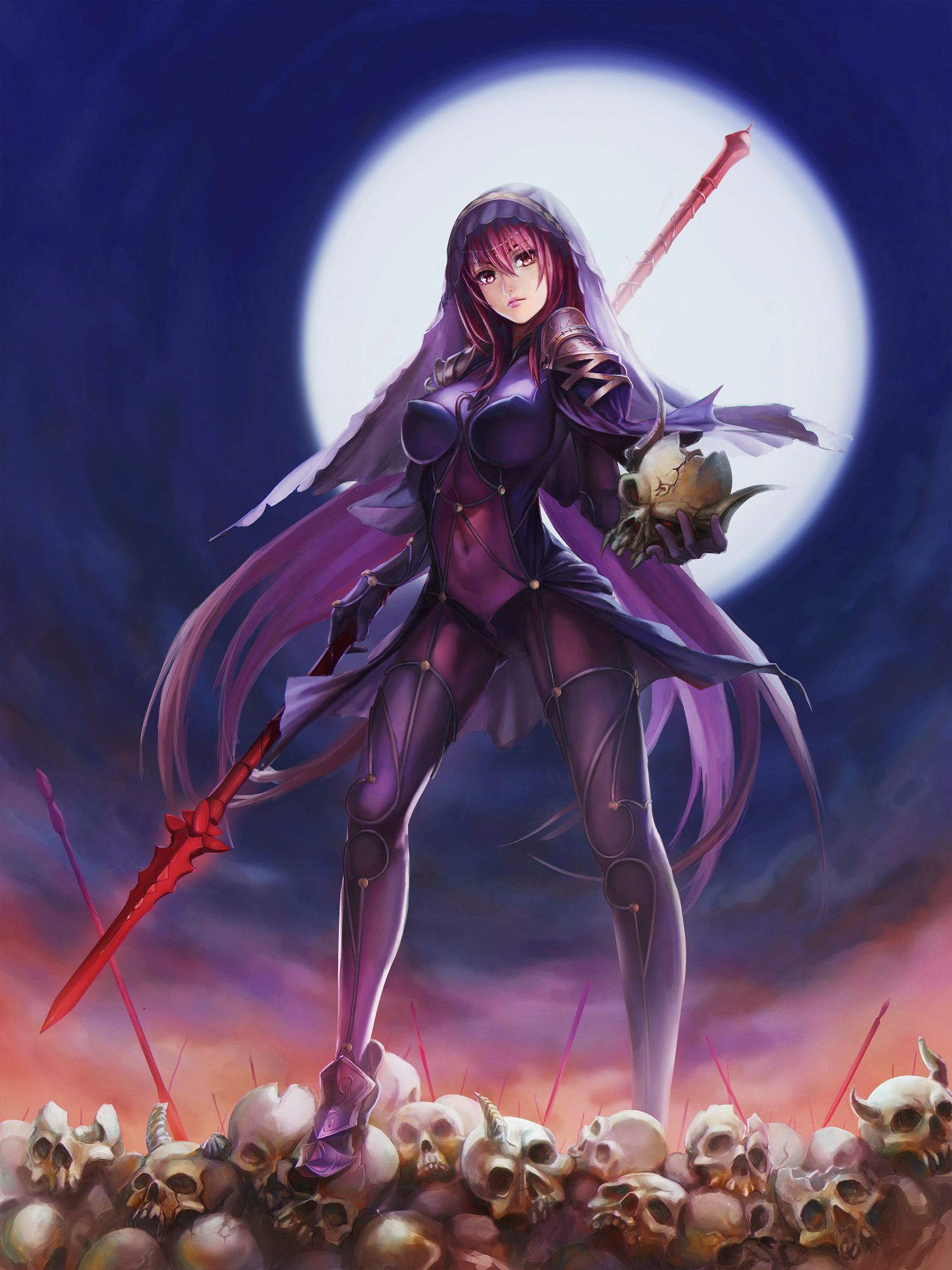 Fate/Grand Order Scathach Scathach fate, Fate grand