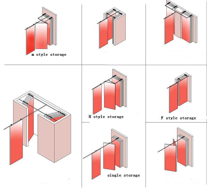 Sliding Floding Partiton Movable Folding Partitions Wall