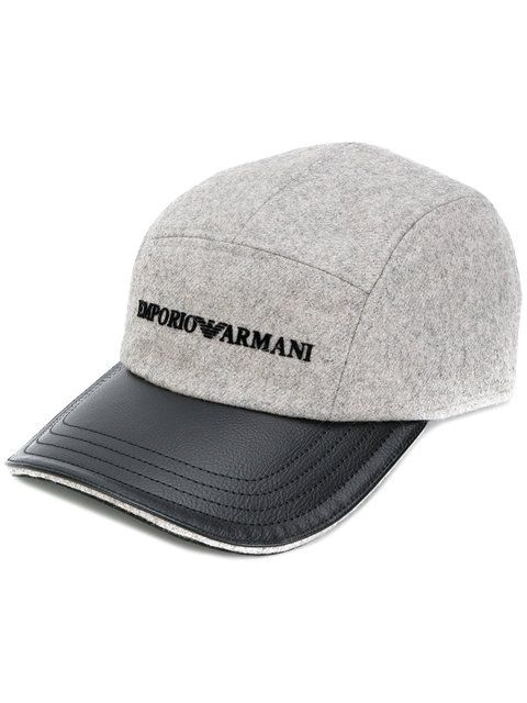 afad1d42 EMPORIO ARMANI logo baseball cap. #emporioarmani # | Emporio Armani ...
