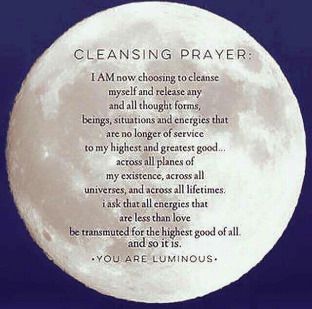 Cleansing prayer | Mindfulness | Smudging prayer, Spiritual