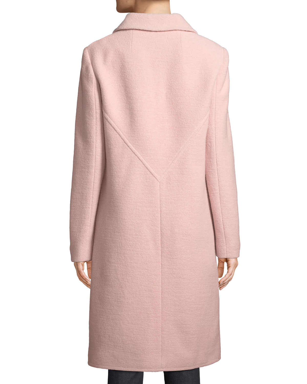 ac8b9413401cf Tory Burch Colette Single-Breasted Long Wool Coat