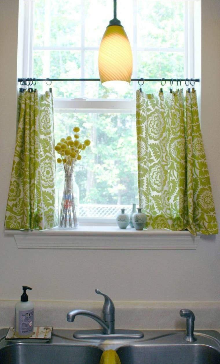 Petite Rideaux Occultant La Partie Basse De La Fenetre Kitchen Window Curtains Kitchen Window Treatments Cafe Curtains