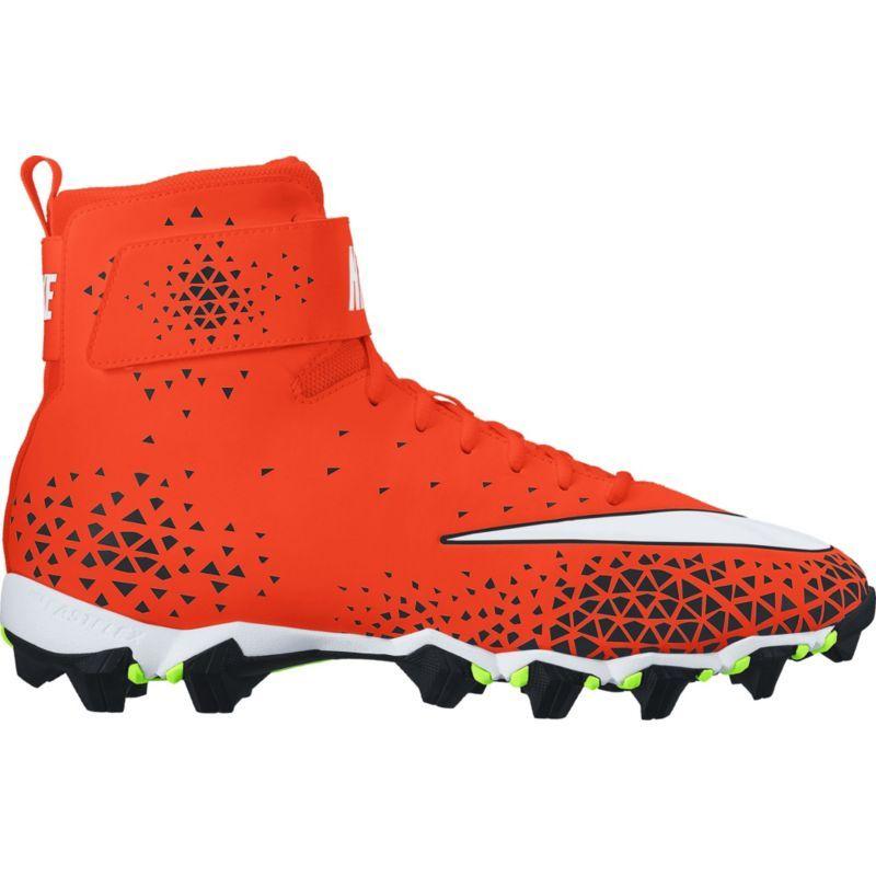 kids football cleats orange
